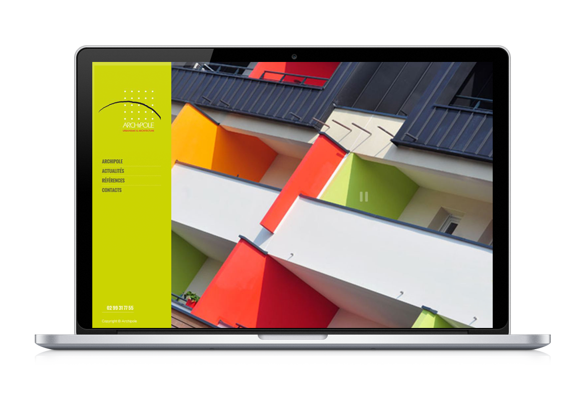 MacBook-Pro site web archipole architecture et urbanismie