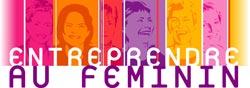 Logo entreprendre au feminin