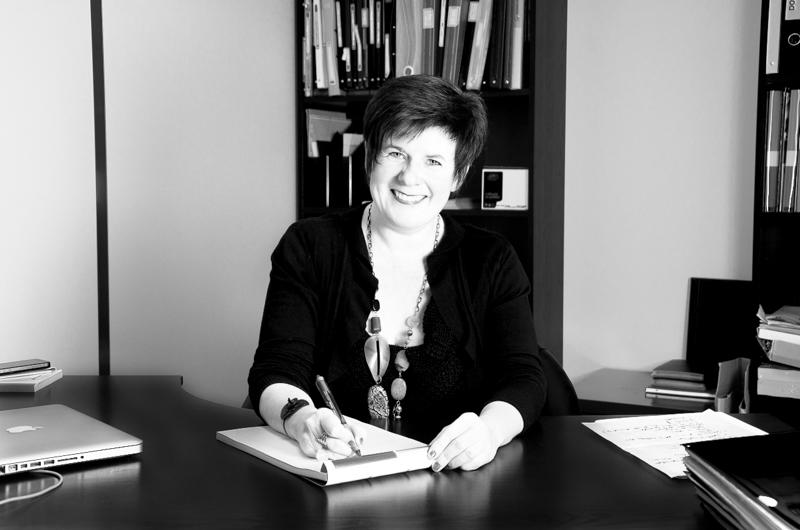 Portrait de dirigeante Brigitte Cholet
