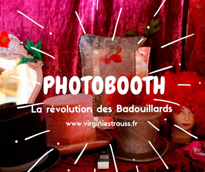 Photobooth animé par l'agence Oulaoups