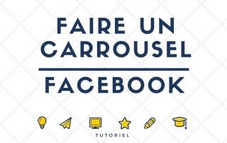 comment faire un carrousel facebook