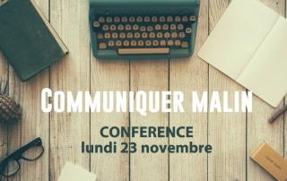 conference communiquer malin