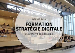 formation stratégie digitale à l'université rennes 2