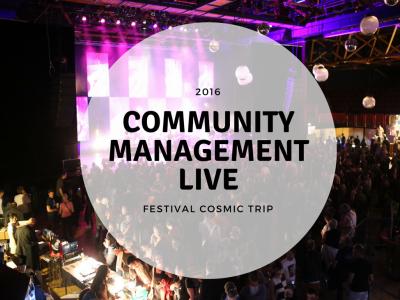 Reportage live sur les réseaux sociaux community management pour festivals
