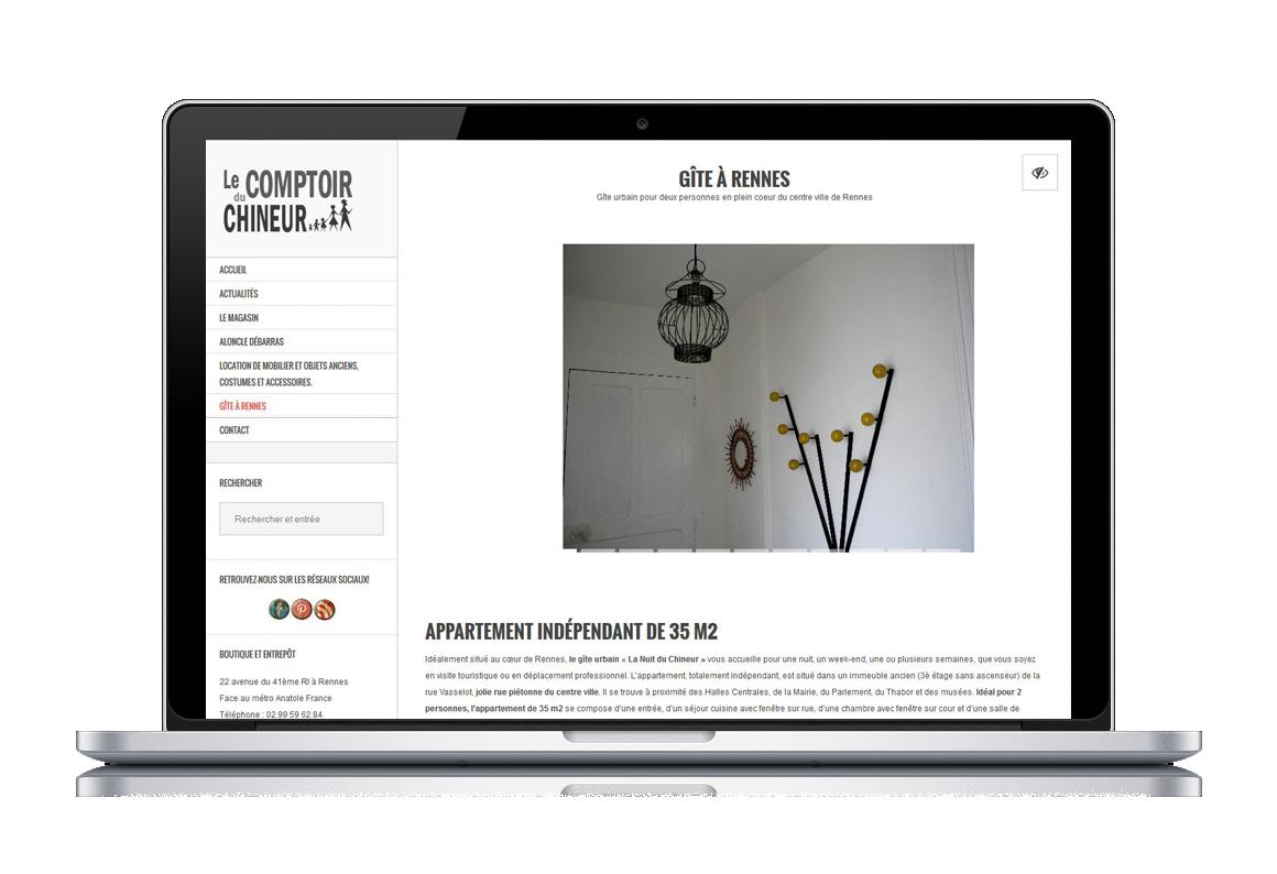 MacBook-Pro site web comptoir chineur