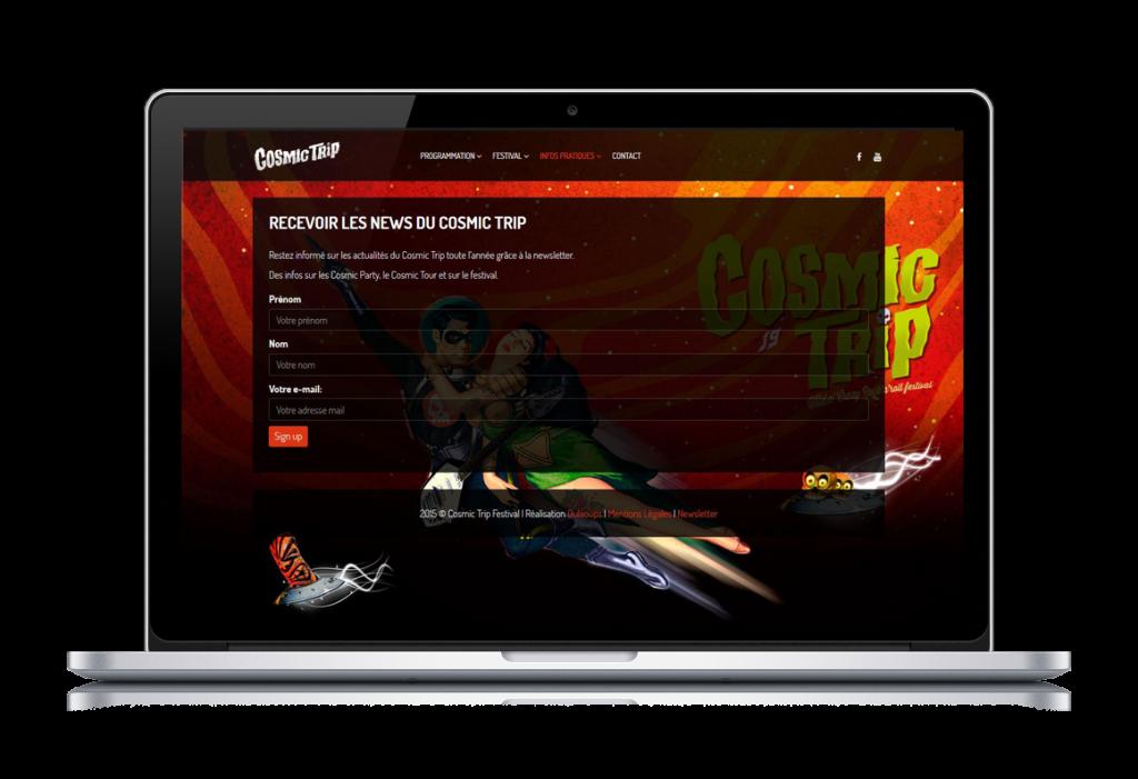 creation site web festival