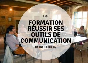 Formation réussir ses outils de communication pour Breizh Conseil