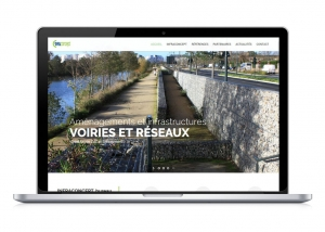 Réalisation du site web d'Infraconcept par Oulaoups