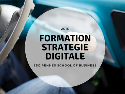 formation strategie digitale à l'ESC Business School de Rennes