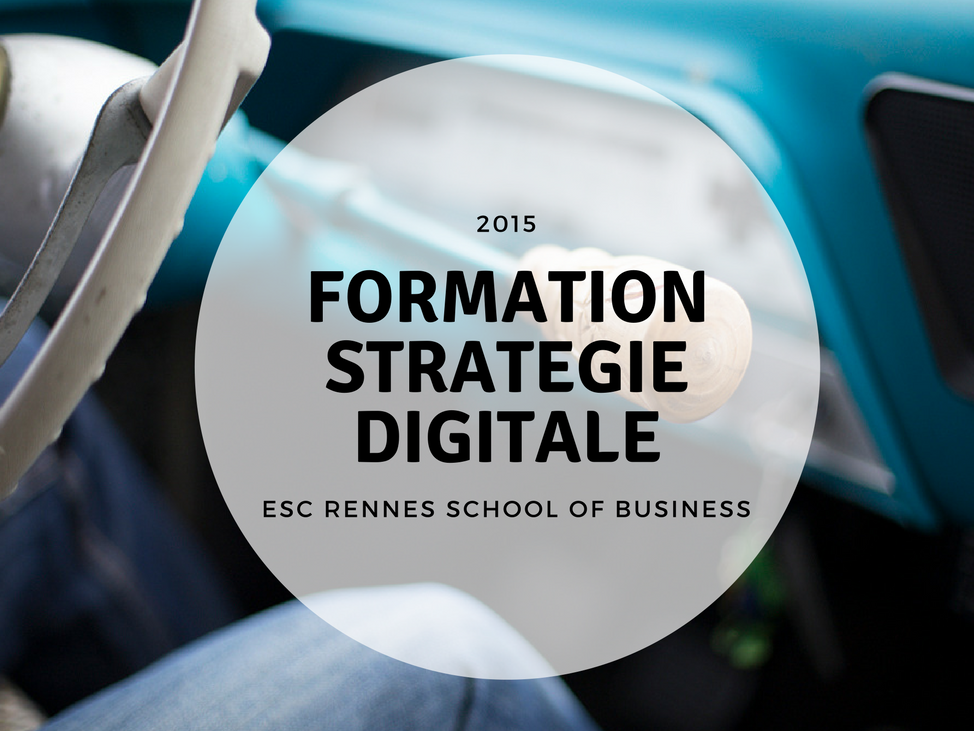 formation strategie digitale à l'ESC Business School de Rennes