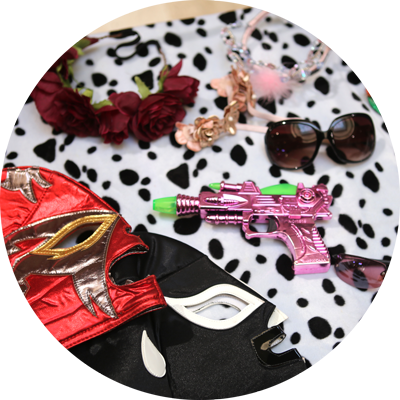 accessoires photobooth oulaoups