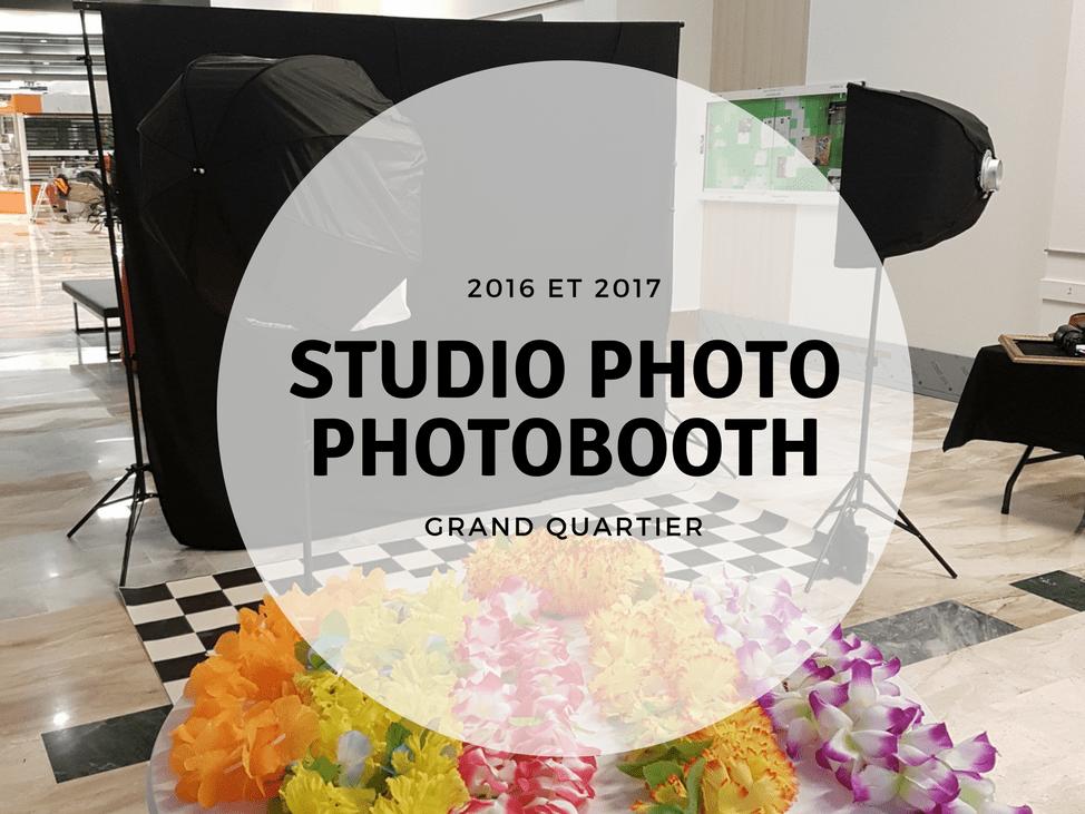 photobooth studio photo mobile à rennes pour le centre commercial grand quartier