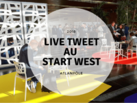 prestation live tweet au start west