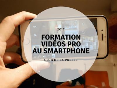 formation vidéo smartphone rennes