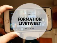Formation livetweet et community management sur mesure à Rennes pour la société Adventiel