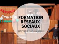 formation réseaux sociaux et community management pour une compagnie de theatre