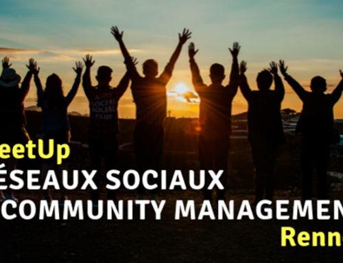 Naissance du MeetUp | Réseaux sociaux & community management Rennes!