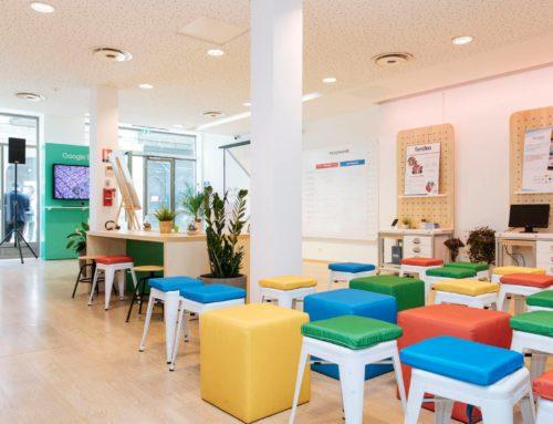 Atelier créer ses visuels chez Google Rennes