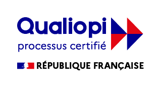 Logo de la certification qualité Qualiopi
